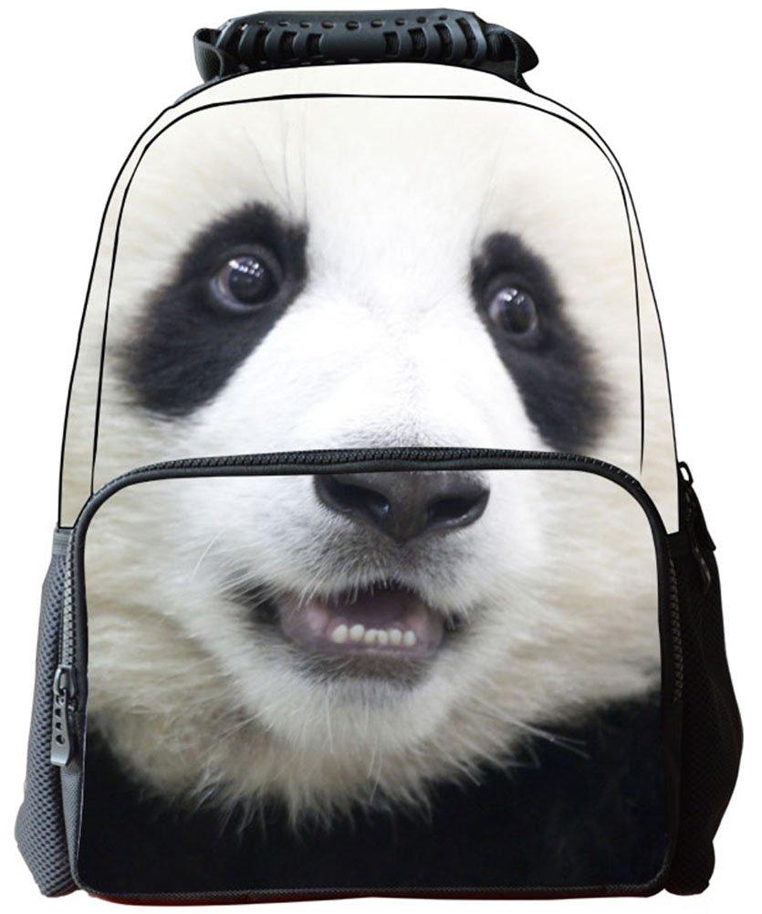 Rosing House Outdoor 3D Animal laptop Casual Cute Backpack (Panda)