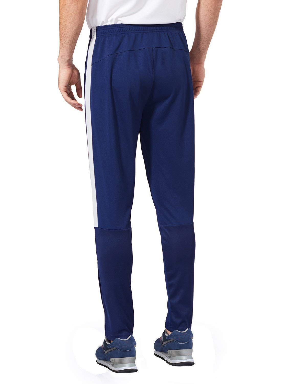 Baleaf Mens Soccer Warm Up Pants Running Training Jogging Zip Leg