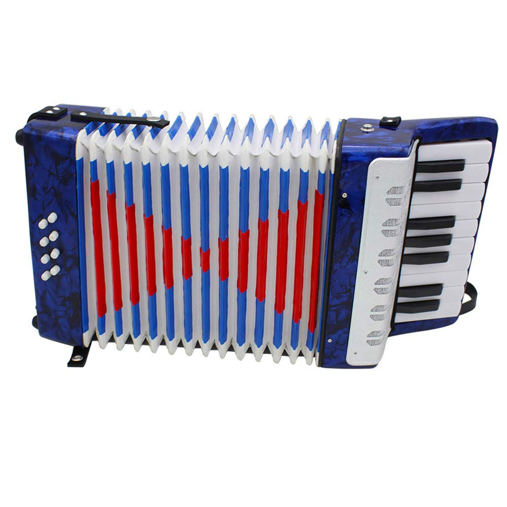 Accordions Mini Small 17-Key 8 Bass Educational Musical Instrument Toy for Kids Children Amateur Beginner by Accordions (Image #5)
