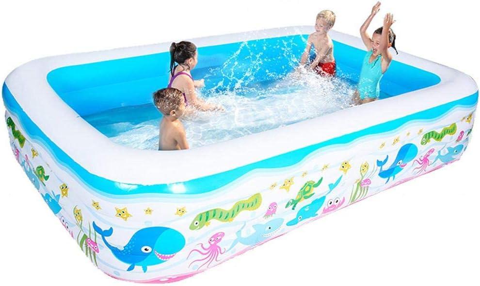 Piscina hinchable gruesa para piscina hinchable, segura, para fiestas, agua, para bebé, niños y adultos., B