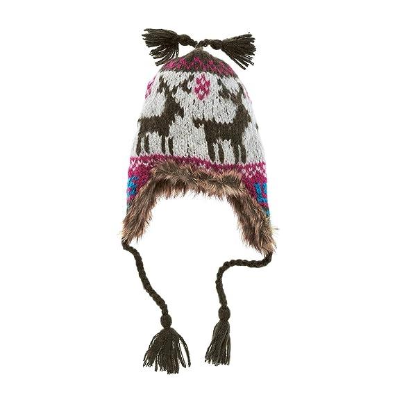 magasiner pour le luxe codes promo choisir officiel Bonnet de trappeur Trapper Inka Barts - Vert Bottle: Amazon ...