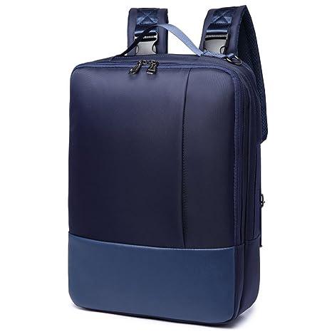 Glestore mochila ordenador portátil 15.6 hombre impermeable bolsa mochila PC portátil para jugar a/caso
