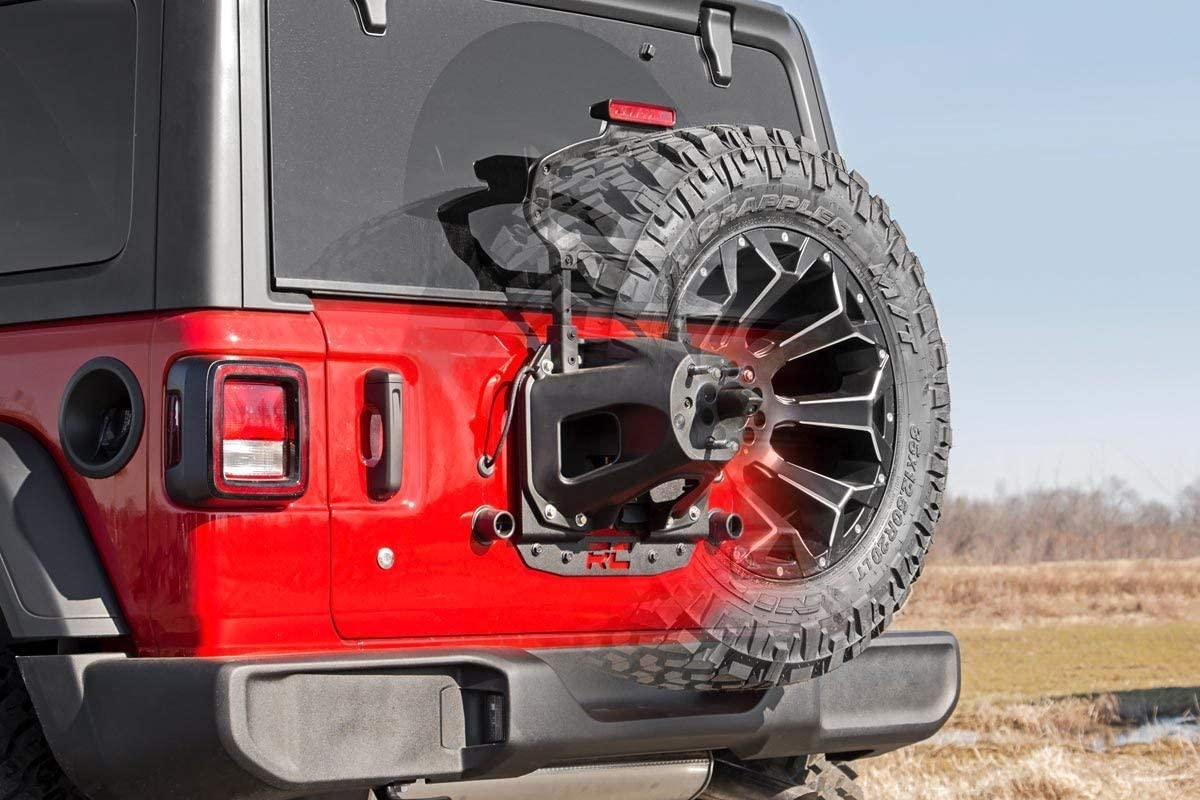 2018-2019 Jeep JL Wrangler Oversized Spare Tire Relocation Bracket