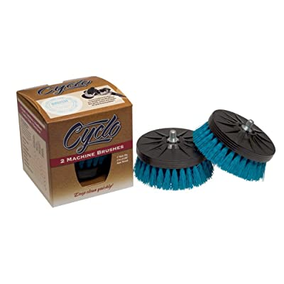 Cyclo (76-830x2-2PK) Shampoo Brush with Aqua Soft Bristles, (Pack of 2): Automotive