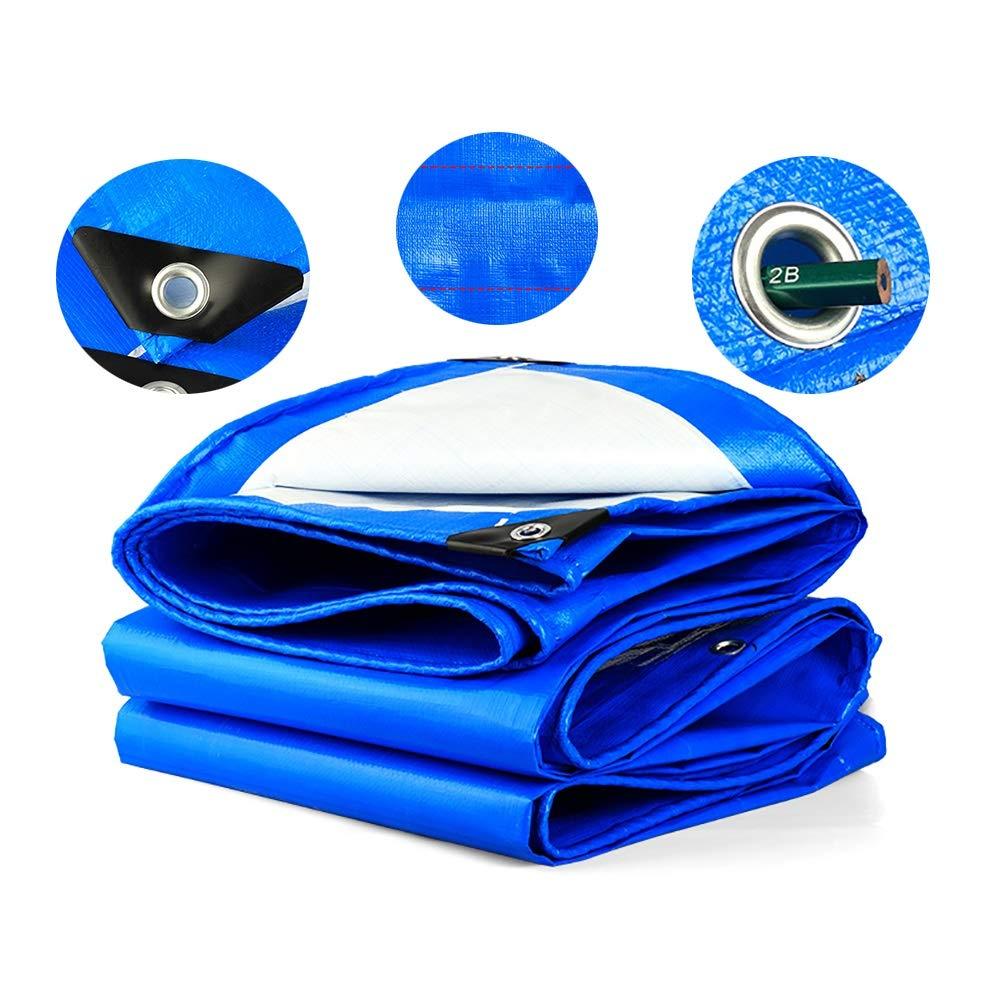8×10m BÂches de Pêche, Couverture Imperméable Forte de, Tente Polyvalente pour Le Camping, Piscine, Véhicule (Taille   3×4m)