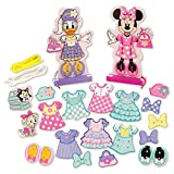 Melissa & Doug Disney Minnie Mouse and Daisy Duck Deluxe Wooden Fashion Lacing Set