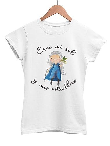 Camiseta Khaleesi Juego de Tronos Eres mi sol y mis estrellas: Amazon.es: Handmade