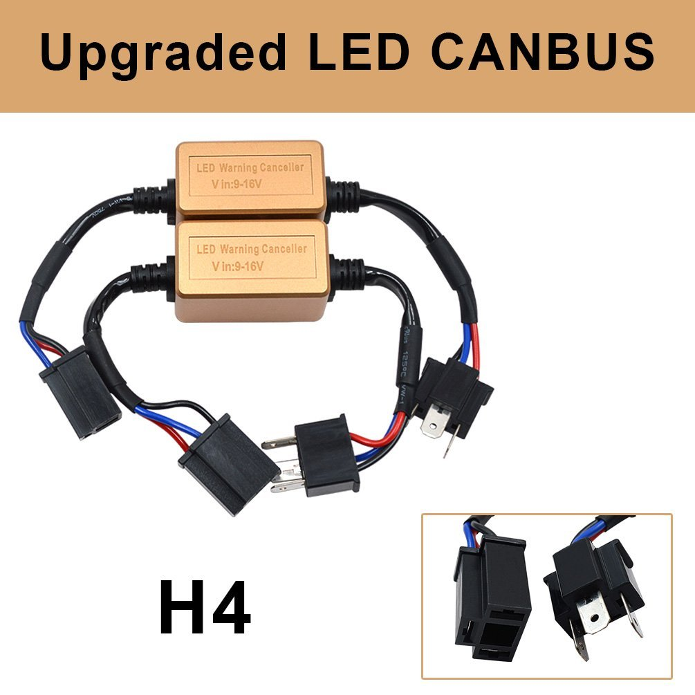 Replacement Parts H1 H3 Canbus Resistor Computer Warning Canceller ...