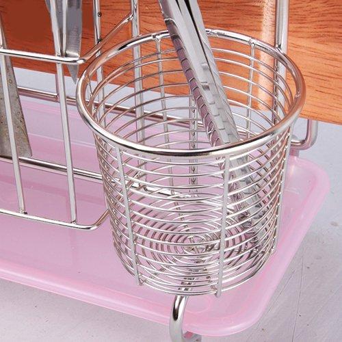 MiniInTheBox Multifunction 304 Stainless Steel Kitchen Tools Shelf Chopsticks Knife Cutting Board Organizer Rack