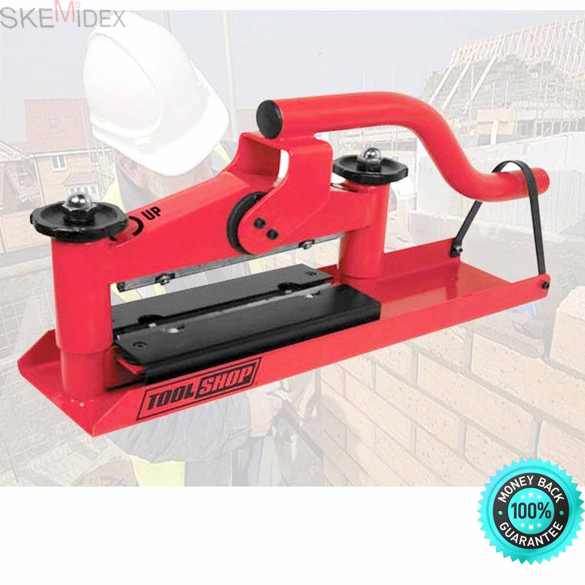 SKEMiDEX--- Cut 3.5'' Guillotine Concrete Block Brick Paver Splitter Cutter Great deal on a great concrete paver and block splitter in this brand new in original box and packaging by SKEMiDEX