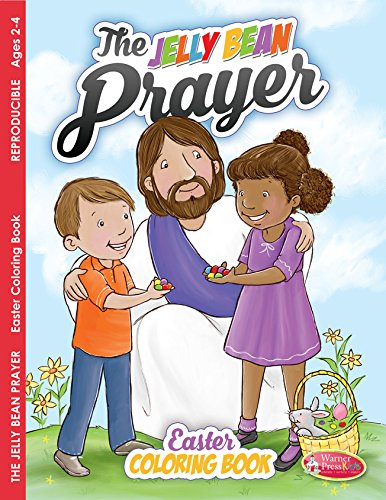 Jelly Bean Prayer, Coloring Book (ages 2-4)  pack of -