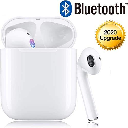 Wireless Earbuds Bluetooth Earbuds Bluetooth Headphones 24Hrs Charging Case 3D Stereo IPX5 Waterproof with Fast Charging for Earphone Samsung Apple Airpods Pro Wireless Earbuds