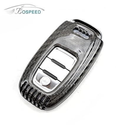 Amazon Com Bospeed Kc Audi 002 Real Carbon Fiber Remote Keyless Key