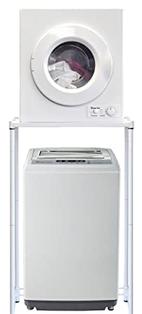 Magic Chef Compact Portable 1.6 Cu Ft. Top Load Washing Machine Bundle With  2.6 Cu
