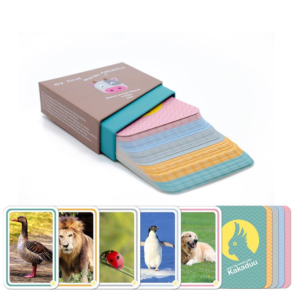 Kakaduu - Juego de Aprendizaje Infantil (Montessori). 50 Tarjetas con Fotos (Mis