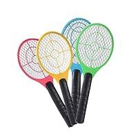 Lanspo Moskito-Mörder-elektrischer Tennis-Schläger-Handschläger-Insekten-Fliegen-Wanzen-Klatsche, sicher und bequem