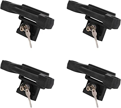 4 Pack Box Link Tie Down Anchors for F150 F250 F350 2015-2018 Bed Tie Downs Replaces for Ford FL3Z-99000A64-B Bed Cleats Box Link Kit