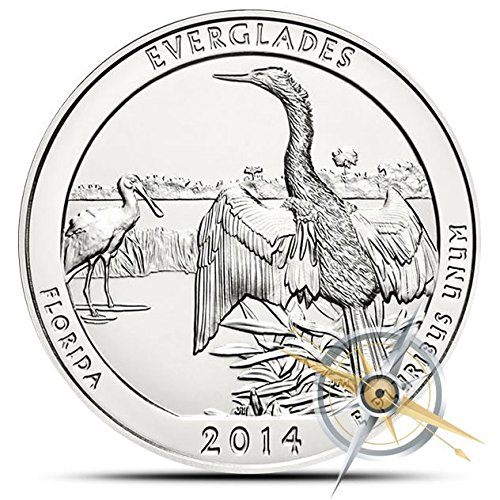 2014 Everglades National Park 5 Oz Silver ATB by US Mint
