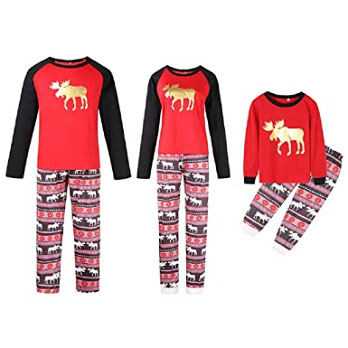 Christmas Family Pajamas Pjs Women Men Kids Baby XXL Silk Wood 2X Fleece  Onesies Kids 18 12a9c6411