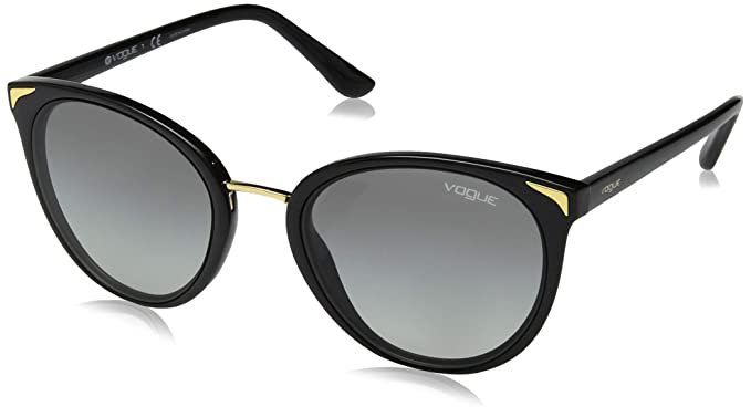 Vogue 0VO5230S Gafas de sol, Black, 54 para Mujer: Amazon.es ...