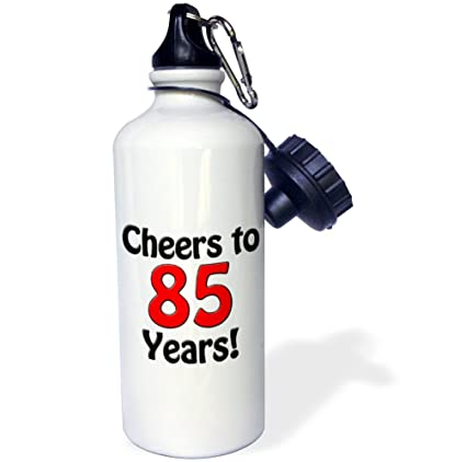 Amazoncom 3drose Evadane Funny Quotes Cheers To 85 Years Red