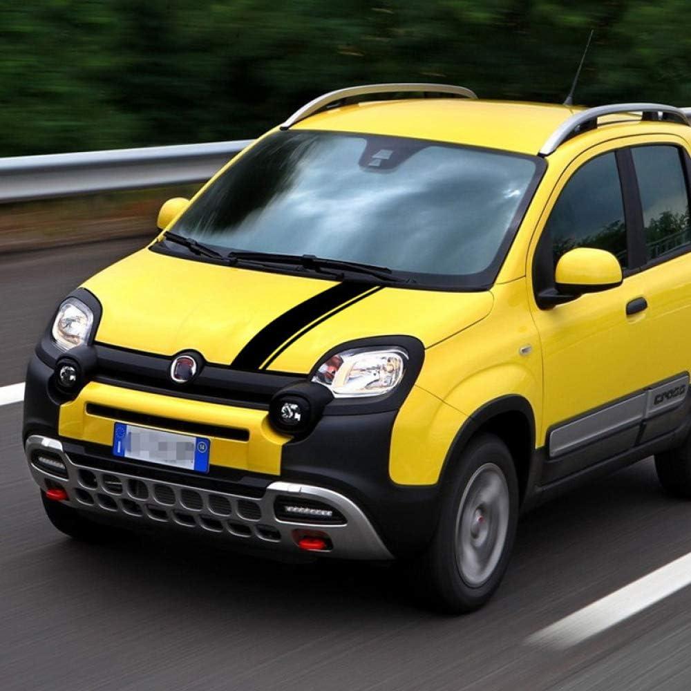 Hllebw Auto Seitenstreifen Seitenaufkleber Aufkleber Für Fiat Panda 4x4 Cross Off Road Sport Freizeit