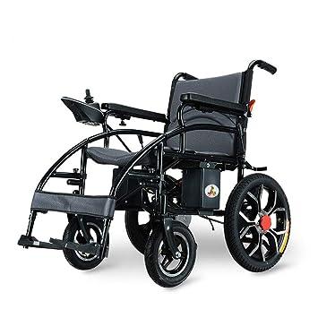 MEYLEE Silla de Ruedas eléctrica, Anciano discapacitado ...