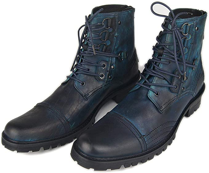 GYPING Men's Martin Boots,Lace-up