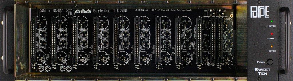 Purple Audio Sweet Ten Rack