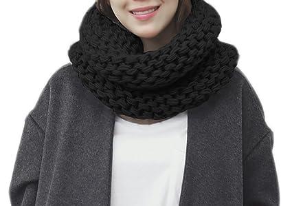 Amazon Unisex Men Women Fashion Knitted Scarves Neck Warmer