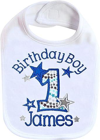 Newborn Baby Personalized Gift Toddler Cake Smash Bib Custom Terry Cloth Name Bib