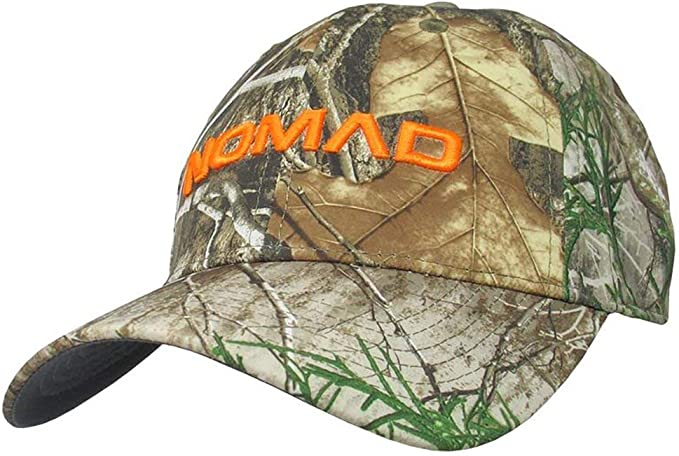 N3000043 NOMAD CAMO TRUCKER CAP REALTREE EDGE