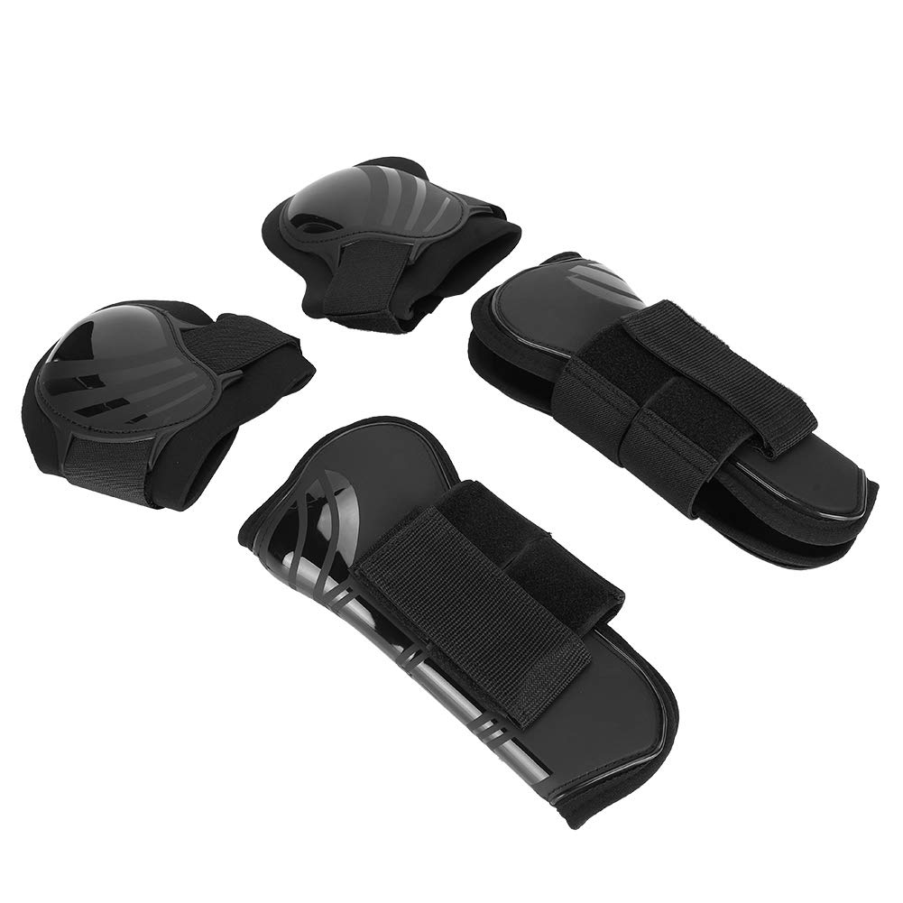 2 Pair Horse Tendon and Fetlock Boots Front Hind Horse Leg Boots Protective Gear