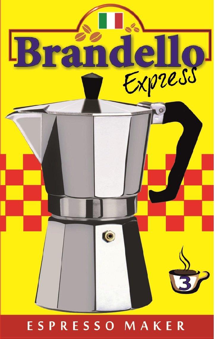 Aluminium Stovetop Espresso Maker Pot for Coffee - 3 Cup Size