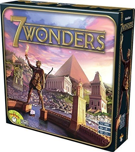 Repos Production 7 Wonders ASMSEVUS01 Board Game