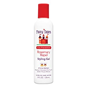 Fairy Tales Rosemary Repel Daily Kid Styling Gel for Lice Prevention