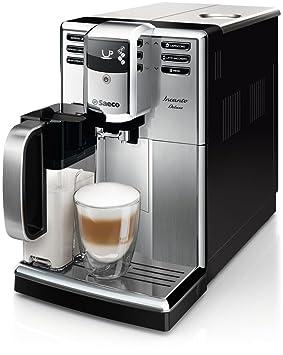 Saeco Incanto HD8921/09 - Cafetera (Independiente, Máquina espresso, 1,8 L, Molinillo integrado, 1850 W, Negro, Acero inoxidable): Amazon.es: Hogar