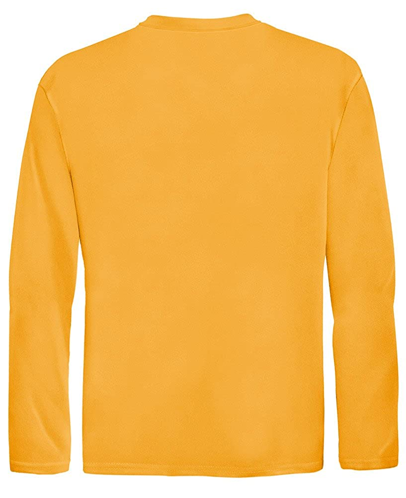 37b152cd7f9b Amazon.com: DRI-Equip Youth Long Sleeve Moisture Wicking Athletic Shirts. Youth  Sizes XS-XL: Clothing