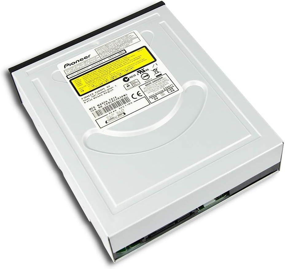 Internal Dual Layer 15X BD-R BD-RE DL 50GB 3D Blu-ray Disc Writer SATA Optical Drive for HP Dell Tower Desktop Computer PC for Pioneer BDR-208 BDR-208DBK Super Multi 16X DVD+-R 40X CD-R Burner