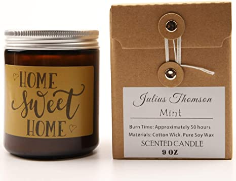 Home Sweet Home Housewarming Gift Succulent Gift Box Realtor Gift Box Scented Soy Candle Gift  Best Friend Gift New Home Gift