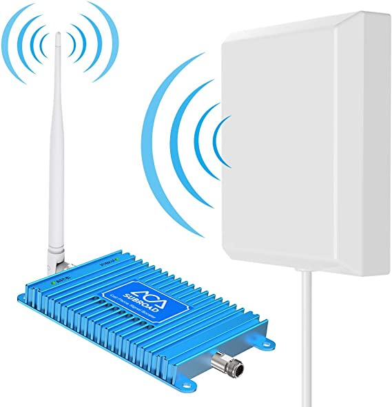 Signal Boosters Verizon Cell Phone Signal Booster 4G LTE Subroad 700Mhz Band 13 Mobile Cellular Amplifier Repeater Kits for Home Office Verizon Signal Booster Extend Coverage Up to 4,000Sq Ft