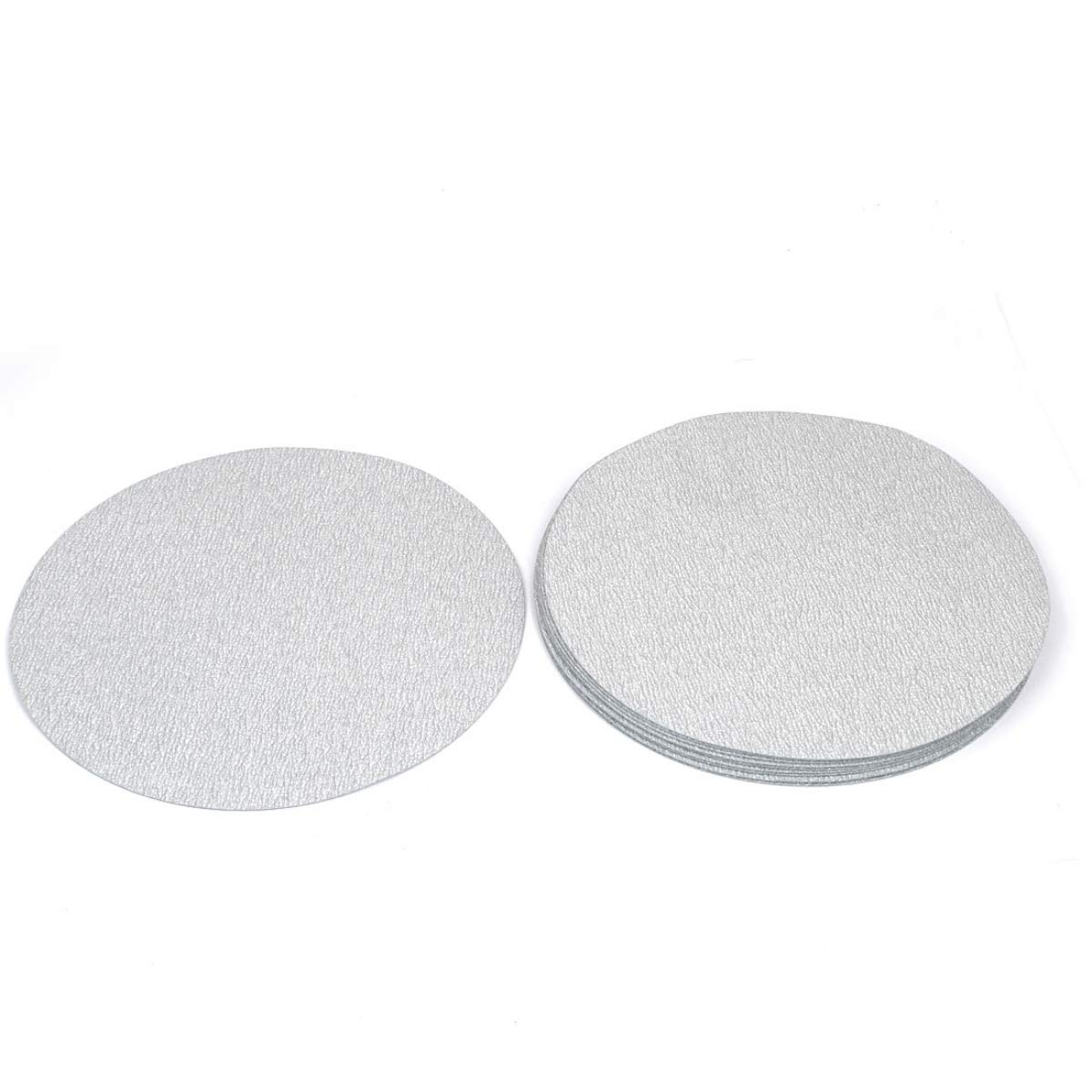 5 Inches Sandpaper Disc 800 Grit Hook and Loop Wet and Dry Waterproof Abrasive Sanding Paper PSA NO Hole 10 pcs CAZURE