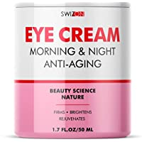 Premium Under Eye Cream for Dark Circles and Puffiness - Anti-Aging Support and...