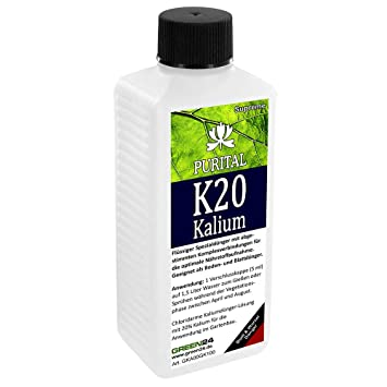 Purital K20 Potassium Liquid Fertilizer - HighTech Plant Food - 20%  Potassium