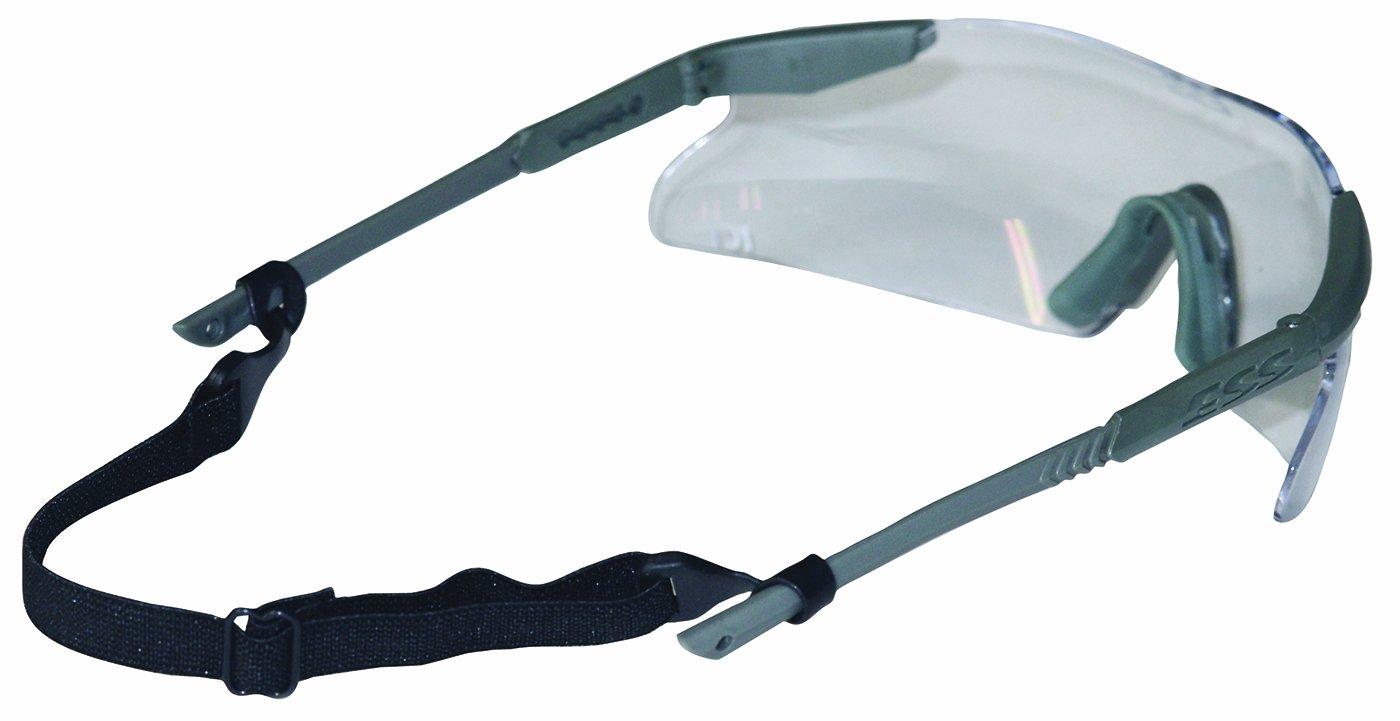 Chums Safety 82015 Adjustable Elastic Sport Strap Safety Eywear Retainer, Black (Pack of 6)
