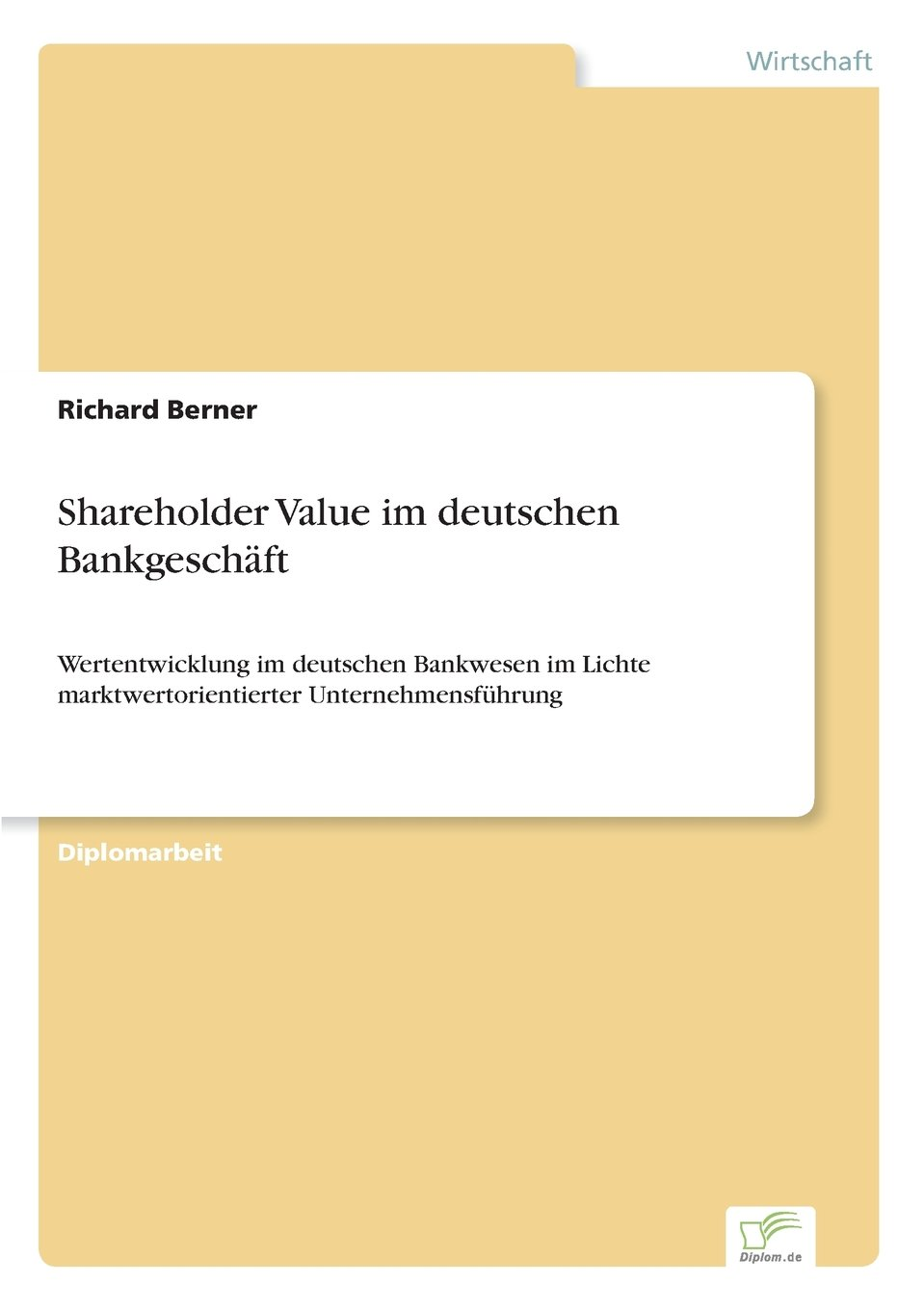 Download Shareholder Value im deutschen Bankgeschäft (German Edition) pdf