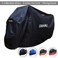 SMARCY® Housse de Protection pour Moto XXL Noir