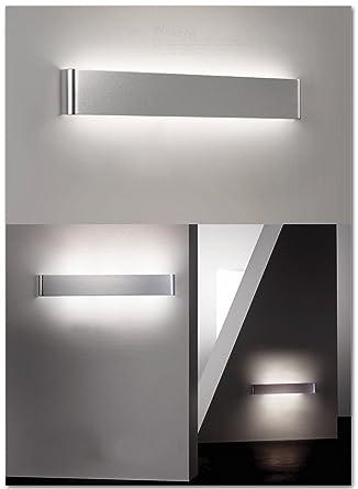 Salle Chevet De Lampe Led Moderne Minimaliste Aluminium Mur f76gyb