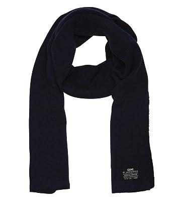 Jack   Jones jjdna Knit écharpe NOOS 2015 Bleu Dress Blues   Blau taille  unique 9ce6fc61662