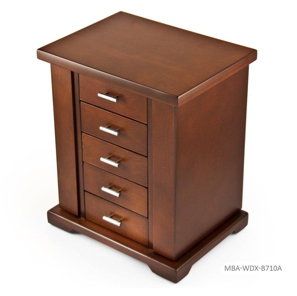 【セール 登場から人気沸騰】 クラシックContemporary 18 (+$55) Note Natural Wood of Finish Musical Jewelry Box Music w。シルバーハードウェア 123. Frere Jacques - SWISS (+$55) MBA-WDX-B710A-WD-18NOTE B0755GG4R5 354. Sound of Music (Richard Rogers) 354. Sound of Music (Richard Rogers), ice-cream:859f5143 --- arianechie.dominiotemporario.com